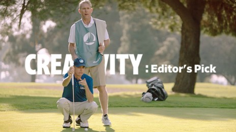 A GOLFER CAN'T MISS IN THIS FUNNY CAMPAIGN FOR BANKING BRAND SDCCU