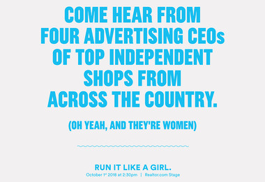 Join Seema Miller at Advertising Week in NYC: 'Run it like a Girl'