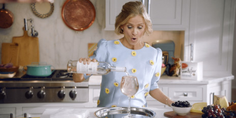 Amy Sedaris Cares Deeply About Napkin Etiquette in Hilarious Vanity Fair Campaign
